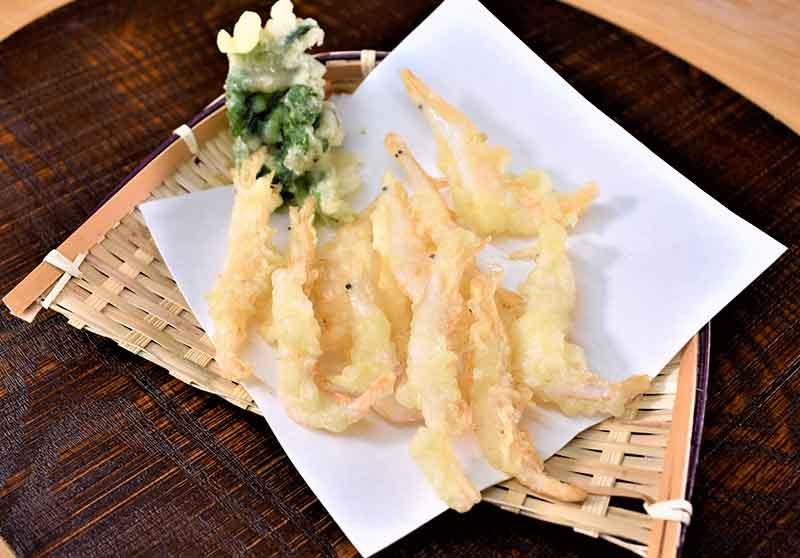 白えび天ぷら