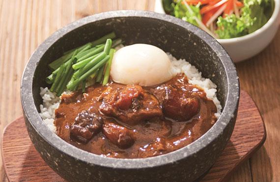 レンジ牛すじカレー 3食