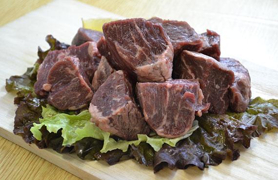 牛サガリのサイコロステーキ 500g