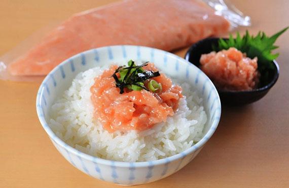 【北海道産】秋鮭とろたたき 300g