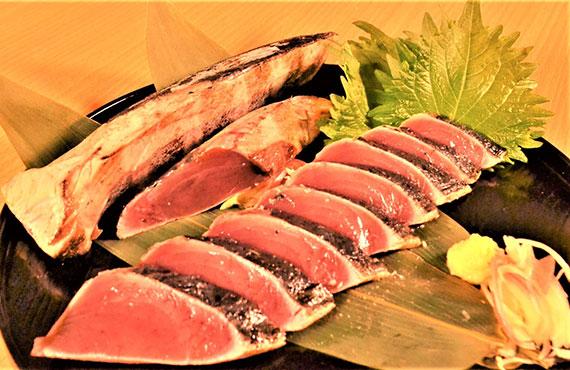 一本釣り藁焼きかつおたたき【鹿児島枕崎】3㎏