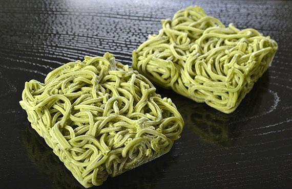 麺始め 茶そば(割子) 10玉