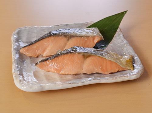 解凍するだけ 秋鮭塩焼き(40g) 10切