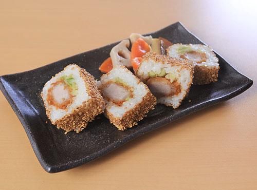 ヒレカツロール寿司 8個