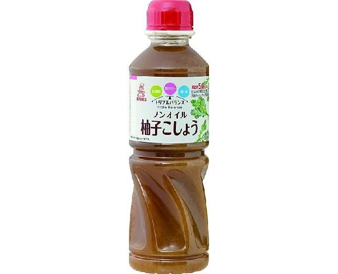 ケンコーノンオイルドレッシング柚子こしょう500ml